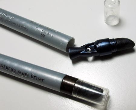 neutrogena nourishing eyeliner review twilight blue and spiced chocolate