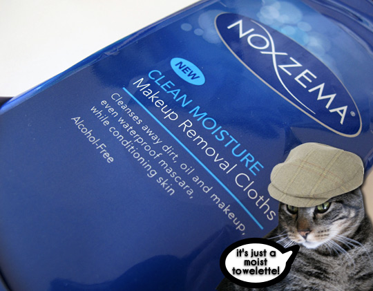 noxema clean moisture makeup removal cloths review