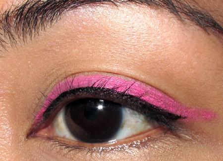 tokidoki makeup pink liner tutorial eye 2
