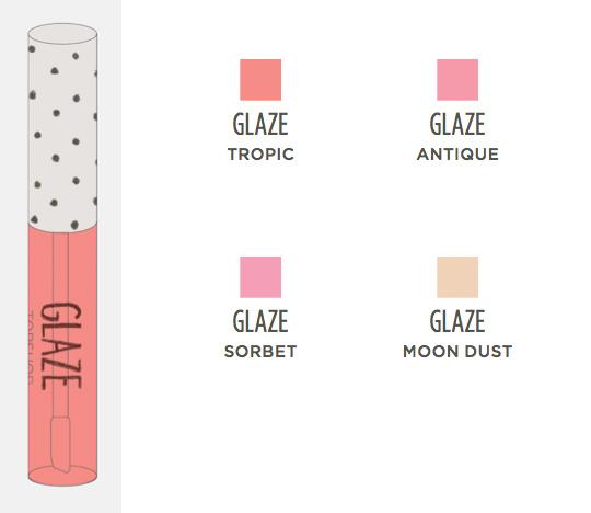 topshop makeup collection glaze
