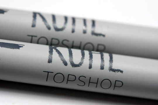 Topshop Amazon Metallic Kohl