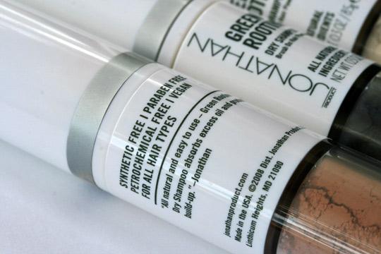 jonathan green rootine dry shampoo