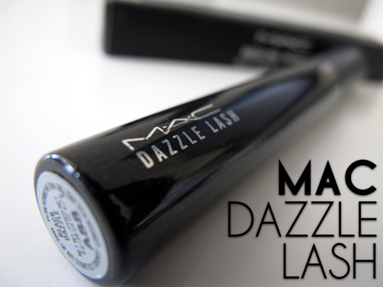 mac dazzle lash review