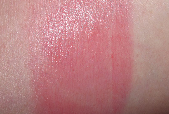 nars multiple tint swatch on nw20 skin