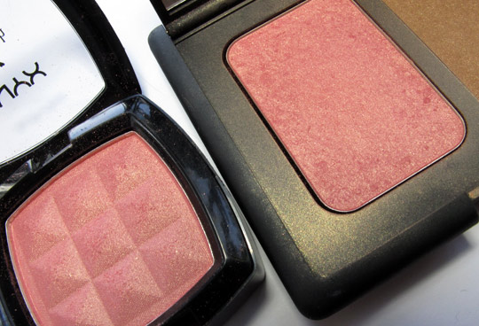nyx blush review