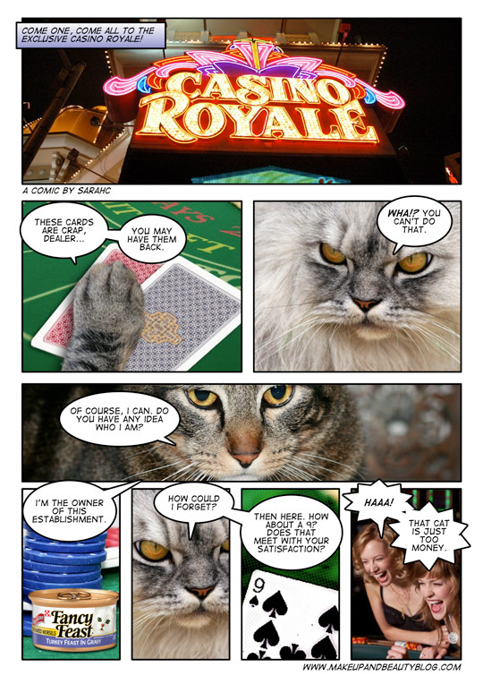 A tabby cat comic by MBB reader sarahc