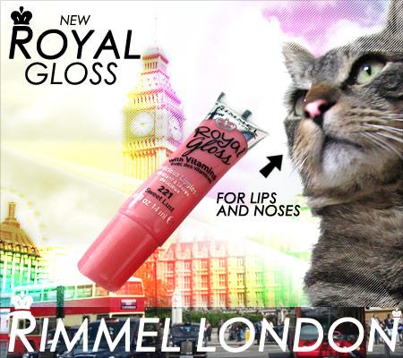 Tabs Rimmel London New Royal Gloss