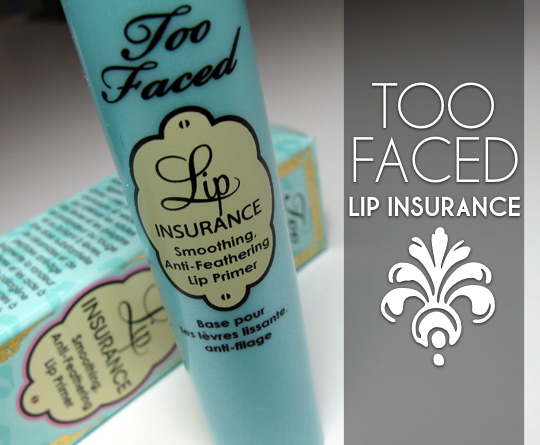 too faced lip insurance review