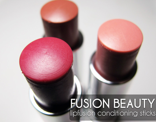 Fusion Beauty LipFusion Conditioning SPF 15 Stick Review