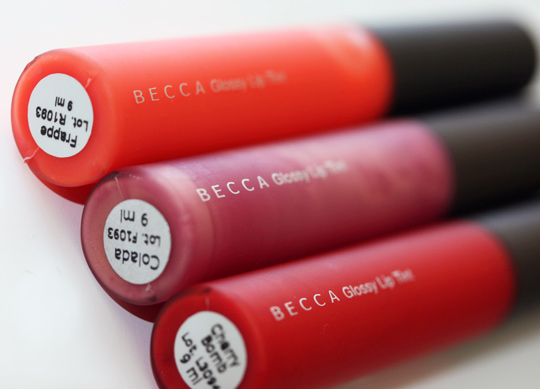 becca glossy lip tint review