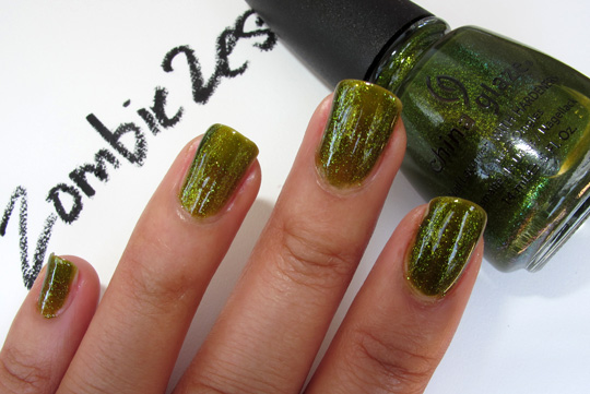 china glaze awakening zombie zest