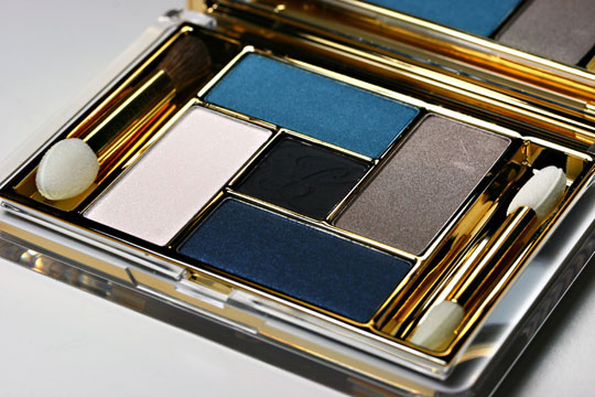 estee lauder blue dahlia swatches review photos blue dahlia palette