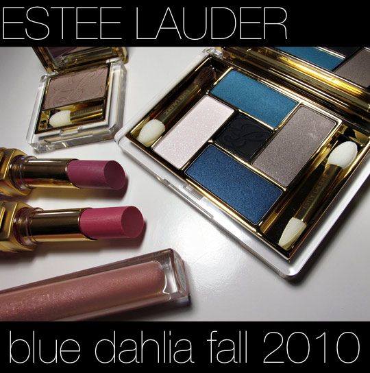 estee lauder blue dahlia swatches review photos
