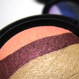 The MAC Mineralize Eye Shadow Trios from MAC In The Groove