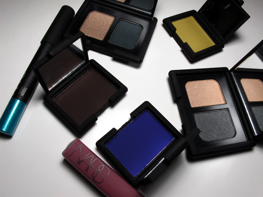 nars fall 2010 swatches review photos