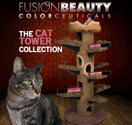 Tabs for Fusion Beauty The Cat Tower Collection