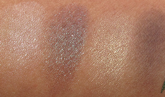 MAC Fabulous Felines Swatches Burmese Beauty Eye Shadow X4 Skintone Burmese Beauty Prized Showstopper