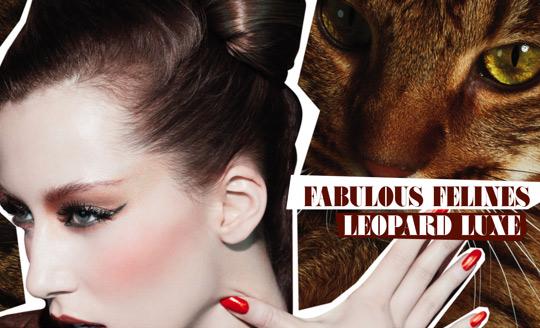 MAC Fabulous Felines Swatches Leopard Luxe