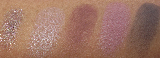 MAC Fabulous Felines Swatches Palace Pedigreed Eye Shadow X4 Courtly Palace Pedigreed Quite Spoiled Russian Blue Pigment Mauvement