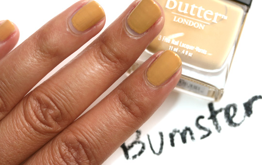 butter london fall 2010 swatches bumster final