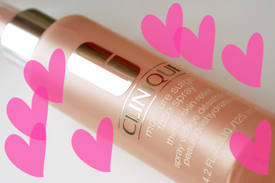 clinique moisture surge face spray review