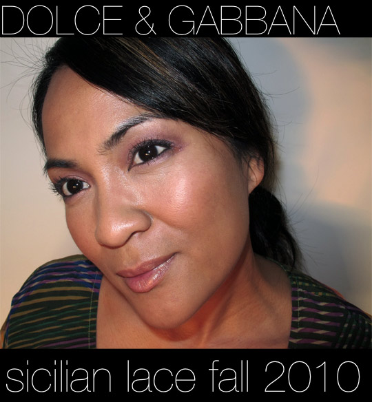 dolce gabbana sicilian lace collection swatches reviews nude eyeshadow quad