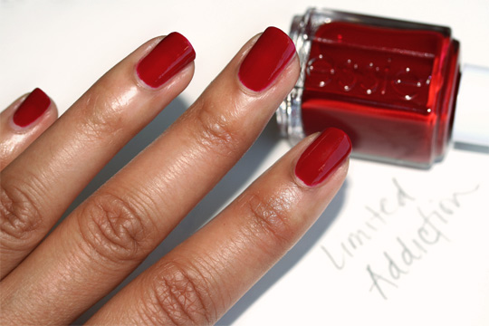 essie fall 2010 swatches limited addiction