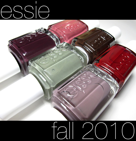 essie fall 2010 swatches