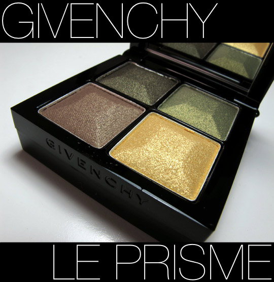 givenchy le prisme eyeshadow quartet review