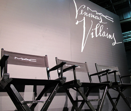 mac venomous villains empty chairs
