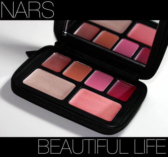 nars beautiful life palette review swatches