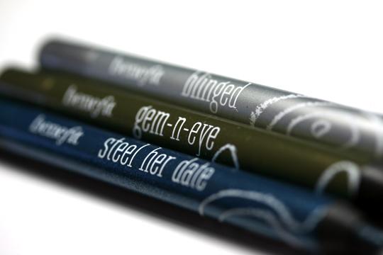 benefit femme metale review swatches photos pencils closeup 2