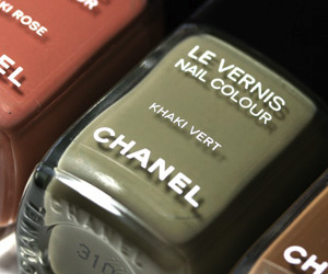 Les Khaki de Chanel Nail Polishes for Fall 2010