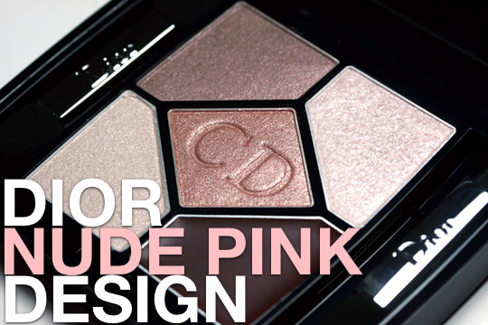 dior nude pink design swatches review