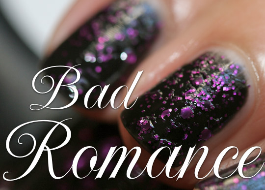 lippmann bad romance swatches review closeup