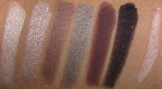 lorac private affair palette review swatches nc35