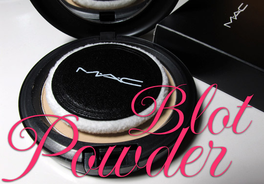 MAC Blot Powder/Pressed: A Plot Against Oil and Shine! - Makeup and Beauty  Blog