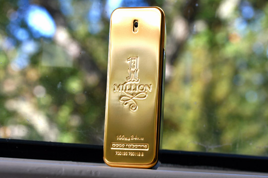 paco rabanne 1 million front