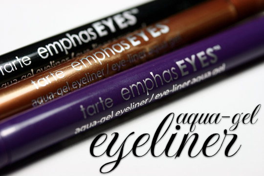 tarte emphaseyes aqua gel liner review