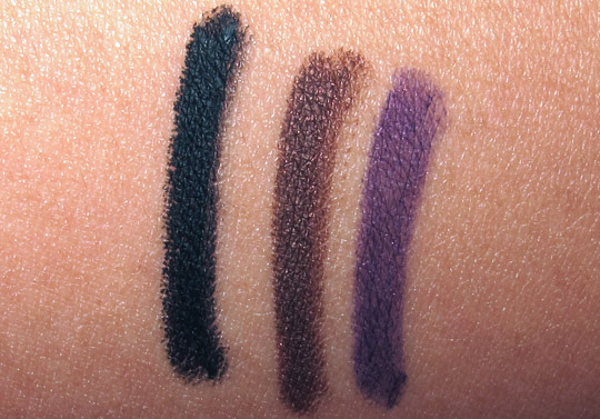 tarte emphaseyes aqua gel liner review swatches