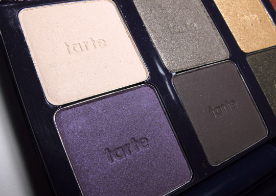 tarte ten palette swatches review closeup 1