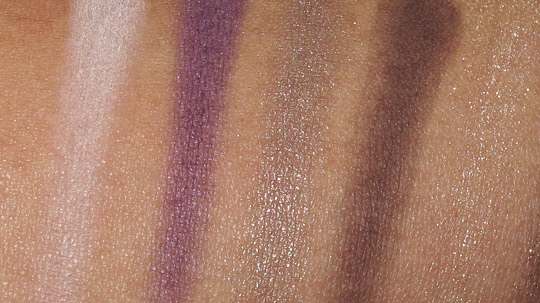 tarte ten palette swatches review eyesahdows 1