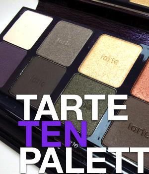 The Tarte TEN Palette