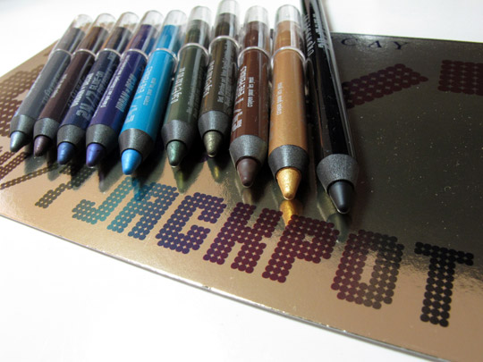 urban decay 24 7 jackpot swatches review photo 2