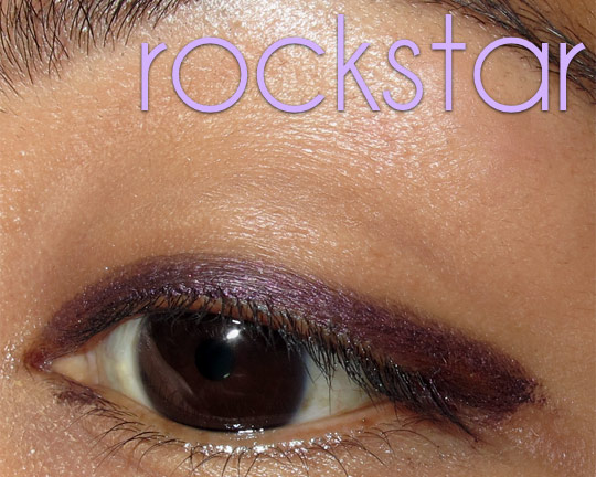 urban decay 24 7 jackpot swatches review rockstar