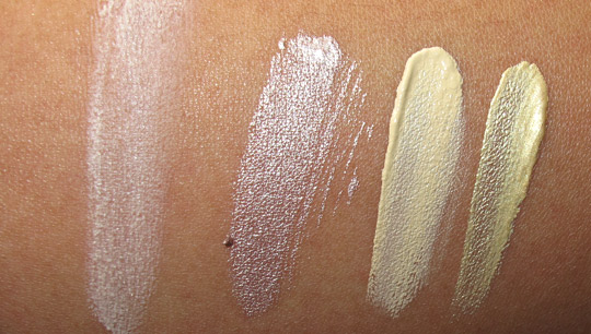 urban decay little sins eyeshadow primer potion set swatches