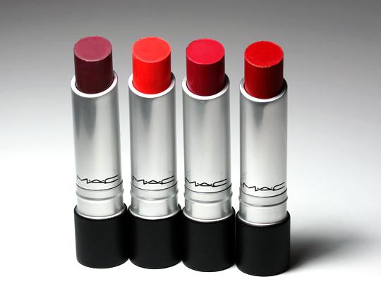 MAC Pro Longwear Lipsticks