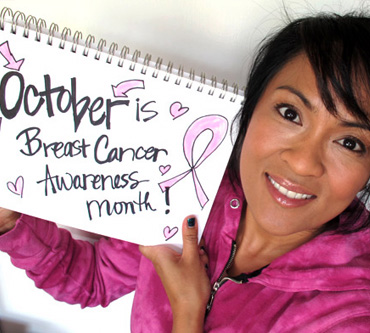 The Breast Cancer Awareness Month Sign Project and Giveaway