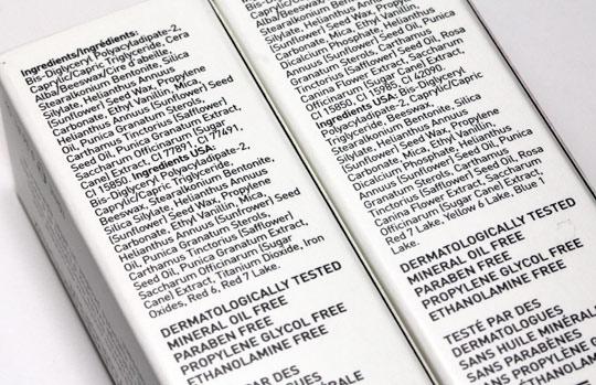 Korres Lip Butter Glaze review ingredients