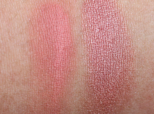 MAC a tartan tale holiday 2010 swatches pictures photos A Triumphant Blush Face Kit-1